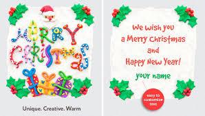 50 stylish festive christmas greetings card templates