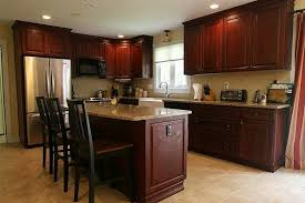 CheapKitchenBacksplashIdeas The Best Reasons To Choose Cherry - Pictures of kitchens with cherry cabinets