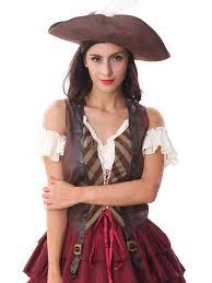 halloween brown pirate dress halloween milanoo com