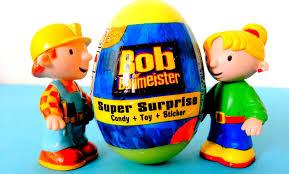 bob builder surprise egg