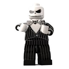 Jack Pumpkin King Halloween Costume Jack Skellington Custom Lego Minifigure