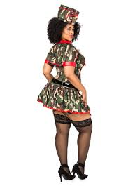 army brat plus size shapewear costume plus size halloween costumes