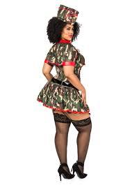 Plus Size Halloween Costumes Army Brat Plus Size Shapewear Costume Plus Size Halloween Costumes