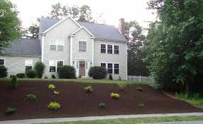 Landscape Mounds Front Yard - keep excess water away from raised mound systems bio septic