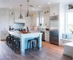 gray kitchen cabinets blue island coastal style white kitchen with blue island cabinets
