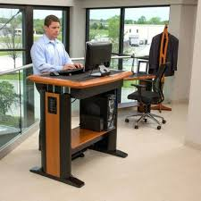 desk stand up computer desk canada adjustable height stand up