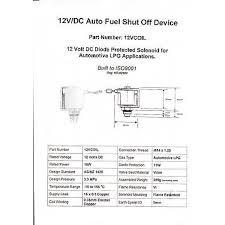 lpg tank 12 volt lock off solenoid valve 12vcoil