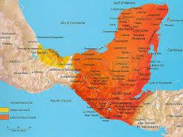 Mayan Empire Map Maya Mesoamerica By Nicole Williams