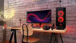 best gaming desk best gaming setup for 2017 building a gaming pc setup with oculus
