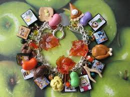 brown thanksgiving charm bracelet how it this