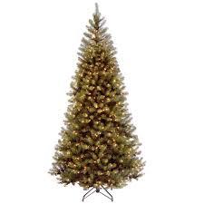 Artificial Pine Trees Home Decor Slim Christmas Trees Christmas Decorations The Home Depot