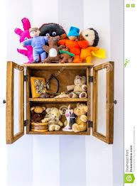 Wooden Wall Display Cabinets Old Rustic Wood Wall Mounted Display Cabinet Items Stuffed Toys