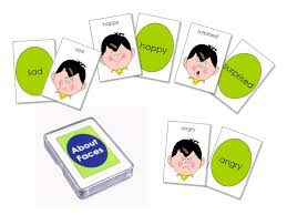 about faces expression card for autistic