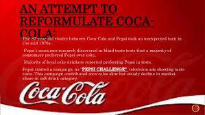 Pepsi Blind Taste Test Failures Of Market Research Of New Coke