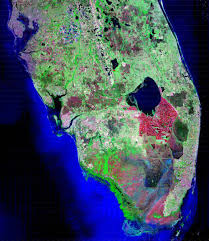 satellite map of florida nasa wetland changes affect south florida freezes