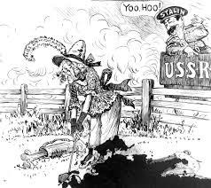 Iron Curtain Political Cartoons Yoo Hoo