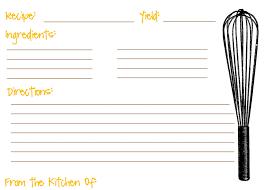 free printable recipe pages recipe maker template gidiye redformapolitica co