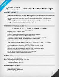 Security Guard Resume Objective Security Guard Resume Objective Armed Security Guard Resume By