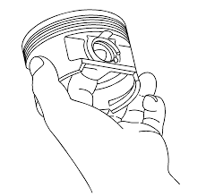 repair instructions off vehicle piston and connecting rod