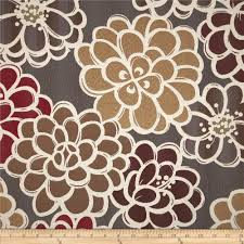 golding shaw floral upholstery jacquard grey burgundy very