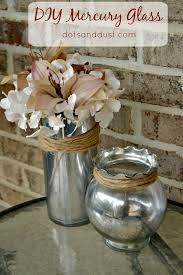Mercury Glass Vases Diy Diy Mercury Glass Dots U0026 Dust