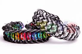 bracelet rainbow looms images Inverse cage rainbow loom bracelet tutorial loom bands jpg