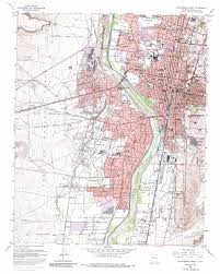Albuquerque New Mexico Map by Albuquerque West Topographic Map Nm Usgs Topo Quad 35106a6