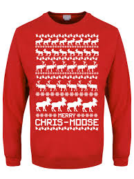 merry chris moose s sweater buy at grindstore