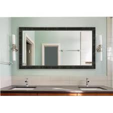 mirrored vanities for bathroom 60 inch bathroom mirror wayfair