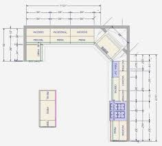Kitchen Floor Plan Designer Kitchen Design Floor Plan Kitchen Design