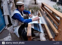 prayer shawls from israel a israeli boy knitting a talit prayer shawl in the