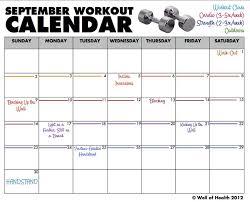 9 excel workout templates excel templatesworkout calendar