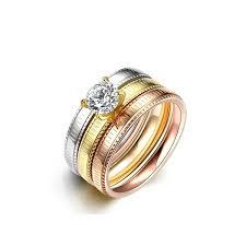 wedding ring japan steel series japan and south korea ring for women