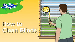 Best Way To Clean Dust Off Blinds How To Clean Window Blinds With Swiffer Dusters Swiffer