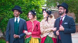 christmas carolers the christmas carolers to take a bite of the big apple in 2017