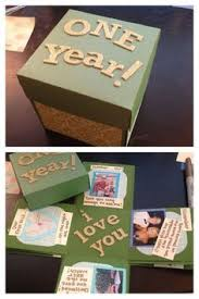anniversary gifts for him 1 year diy 1 year anniversary gifts for boyfriend gifts