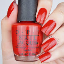 opi got the mean reds swatch opi breakfast at tiffany u0027s collection