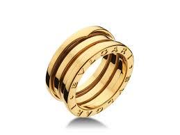 bvlgari rings images Bvlgari bulgari b zero 1 18k yellow gold 3 band an191023 ring png