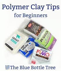 polymer clay tips for beginners the blue bottle tree