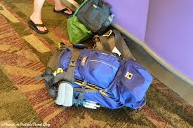 Kansas best traveling backpack images 5 tips for checking your travel backpack at the airport peanuts jpg