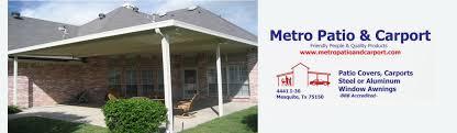 Do It Yourself Awning Do It Yourself Metro Patio U0026 Carport Inc Mesquite Texas