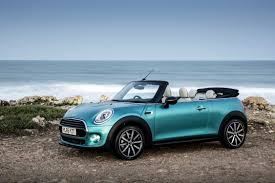 convertible jeep blue the new mini convertible