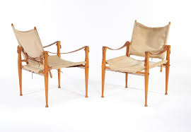 Canvas Outdoor Chairs Kaare Klint Rud Rasmussens Snedkerier Canvas U0026 Leather