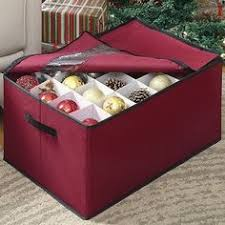 Christmas Ornament Storage Bag With Trays by Santa U0027s Bags Premium Christmas Ornament Storage Bag With 2 Trays