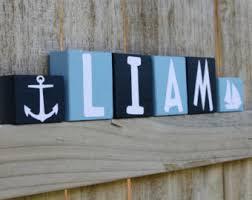 nautical bedroom etsy