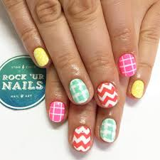 pretty playful nail designs to look cool in summer