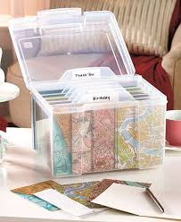 25 unique greeting card storage ideas on card