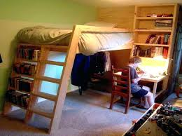 beds with desks underneath elegant loft bed with desk underneath
