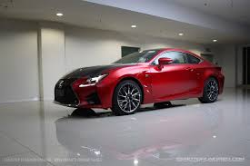 lexus rcf red lexus rcf carbon wing in auto carriage img 70202 zerotohundred com