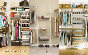 Wardrobe Storage Systems Closet Storage Systems Target